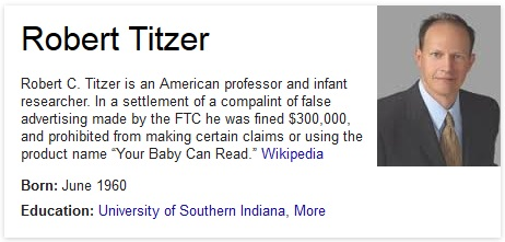 Titzer is an awful last name. Could his mother not read?