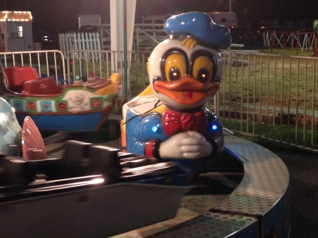Fun fiberglass duck or possessed demon vessel?