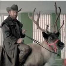Santa is actually Chuck Norris.