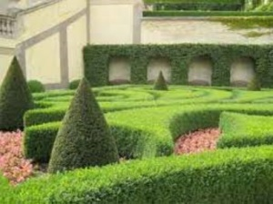 Good point! The grounds need manicured hedges and fancy stuff.