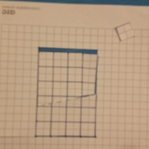 Do you see where the extra square went?