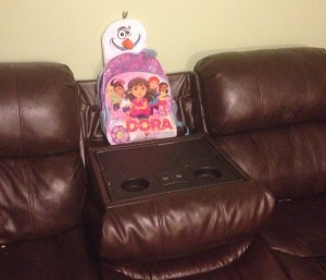 I think I will sit in the last place that a child should sit to use the couch in any manner. This will be perfect.
