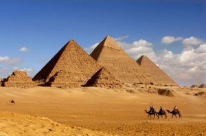 The Periods at Giza, built by Menses the Second.